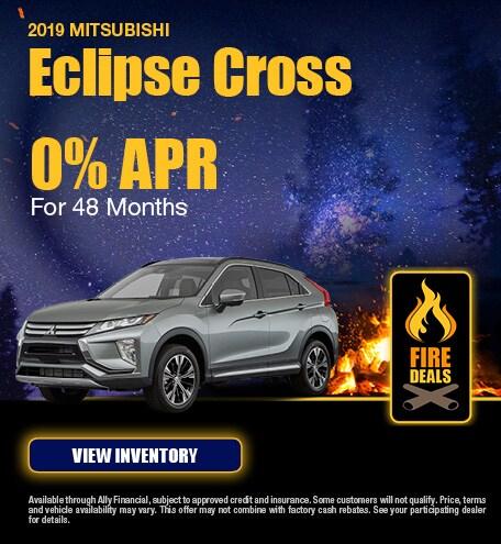 2019 Mitsubishi Eclipse Cross - Finance