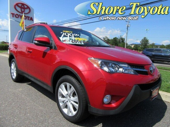 Certified pre-owned 2015 Toyota RAV4 Limited SUV For sale near Turnersville NJ