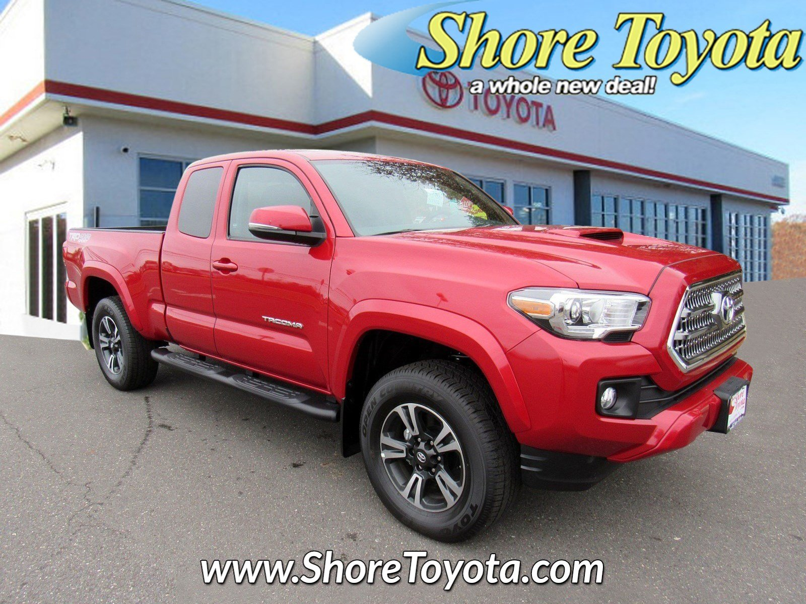 New 2017 Toyota Tacoma Trd Sport Access Cab 6 Bed V6 4x4 At For Sale Long Fuel Hostage Wheels Mays Landing Nj Serving Vineland Atlantic City Turnersville Vin