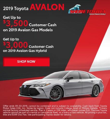 2019 Toyota Avalon & Avalon Hybrid