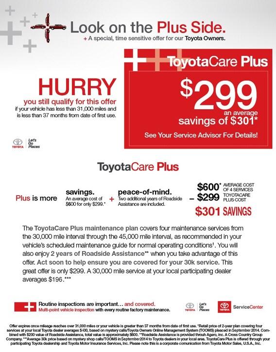Toyota Care Plus >> B Toyotacare Plus B Shore Toyota