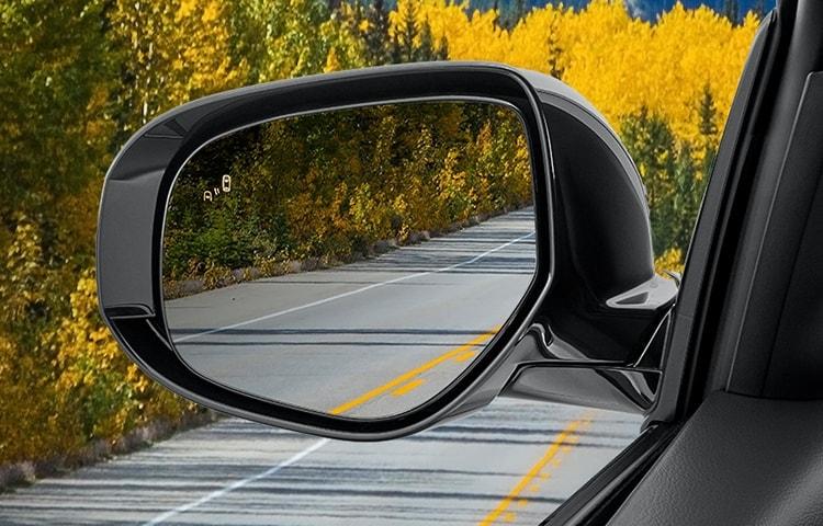 outlander blind spot safety