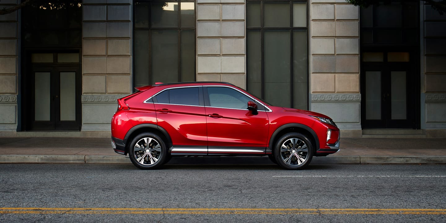 2019 Mitsubishi Eclipse Cross red