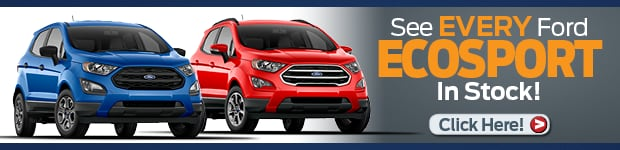 See every Ford EcoSport in stock