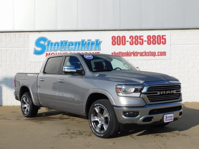 2019 Ram 1500 LARAMIE CREW CAB 4X4 5'7 BOX Crew Cab for sale in Mt. Pleasant, IA at Shottenkirk Mount Pleasant