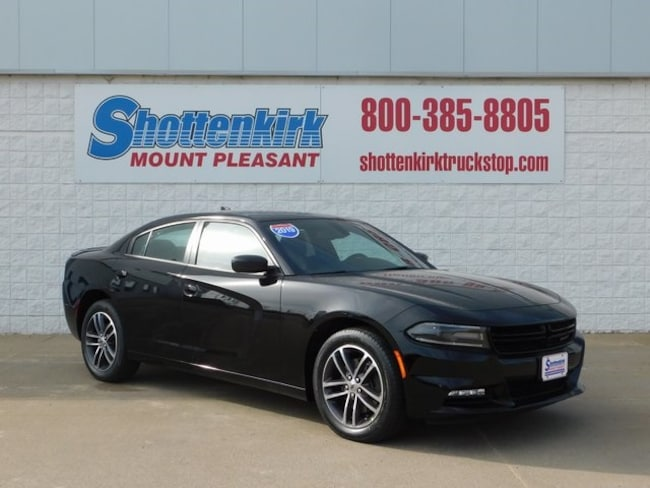 2019 Dodge Charger SXT AWD Sedan for sale in Mt. Pleasant, IA at Shottenkirk Mount Pleasant