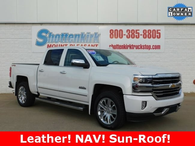 2016 Chevrolet Silverado 1500 High Country Truck Crew Cab for sale in Mt. Pleasant, IA at Shottenkirk Mount Pleasant