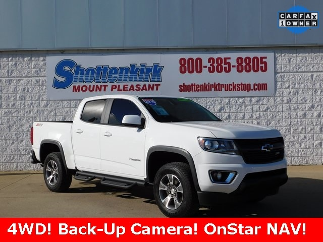 Certified Used 2016 Chevrolet Colorado Z71 for sale in Mt Pleasant, IA    1GCGTDE35G1208069
