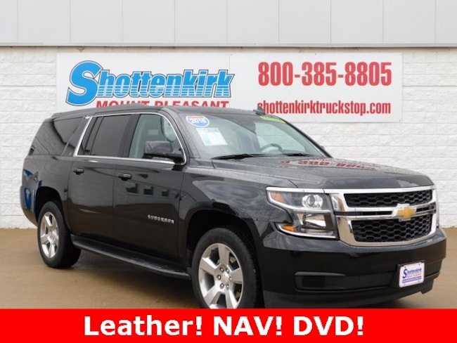 2018 Chevrolet Suburban LT SUV for sale in Mt. Pleasant, IA at Shottenkirk Mount Pleasant