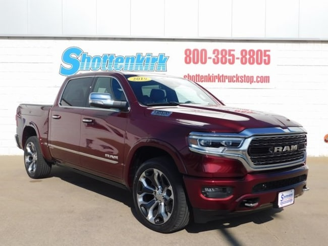 2019 Ram 1500 LIMITED CREW CAB 4X4 5'7 BOX Crew Cab for sale in Mt. Pleasant, IA at Shottenkirk Mount Pleasant