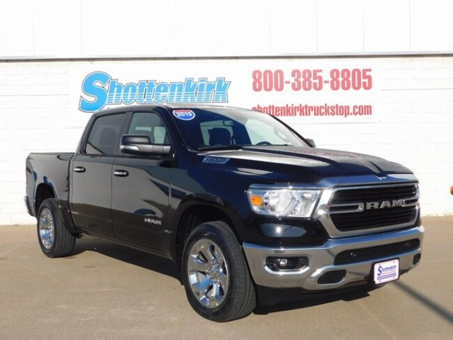 2019 Ram 1500 BIG HORN / LONE STAR CREW CAB 4X4 5'7 BOX Crew Cab for sale in Mt. Pleasant, IA at Shottenkirk Mount Pleasant