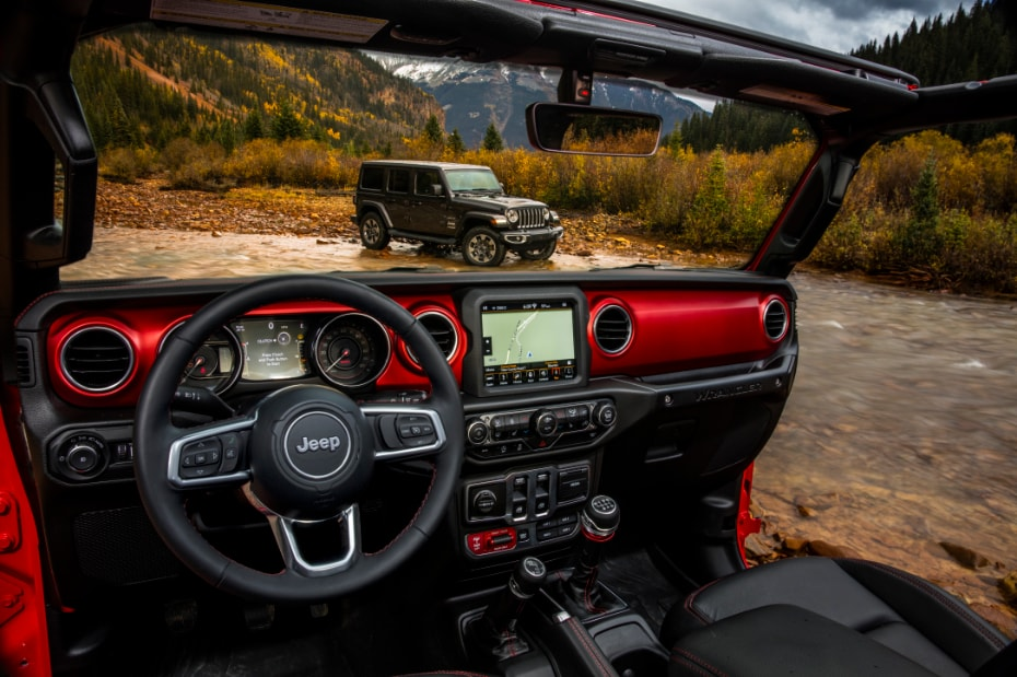 2018 Jeep Wrangler JL Interior View