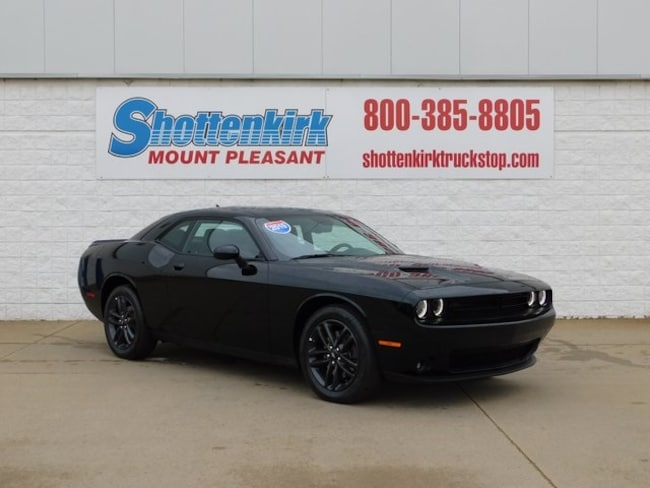 2019 Dodge Challenger SXT AWD Coupe for sale in Mt. Pleasant, IA at Shottenkirk Mount Pleasant