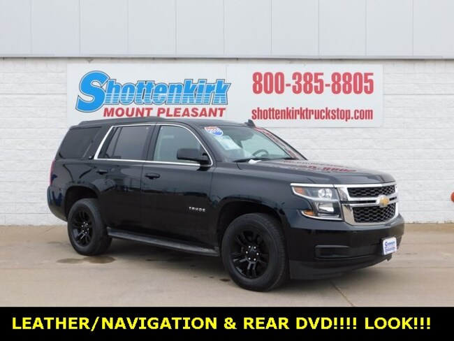 2016 Chevrolet Tahoe LT SUV for sale in Mt. Pleasant, IA at Shottenkirk Mount Pleasant