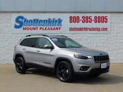 2019 Jeep Cherokee ALTITUDE 4X4 Sport Utility 1C4PJMLX7KD415212 for sale in Mt. Pleasant, IA at Shottenkirk Mount Pleasant