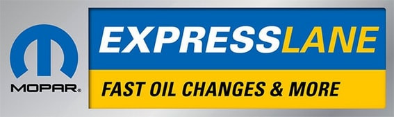 Mopar Express Lane Oil Change Service