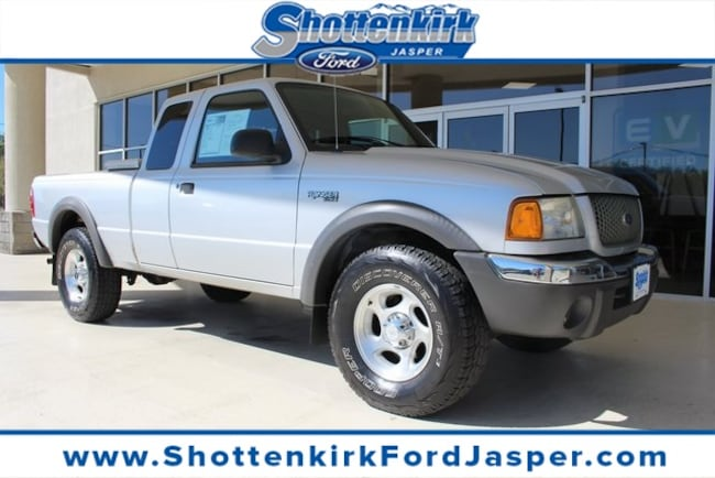 2002 Ford Ranger Extended Cab Short Bed Truck