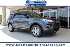 New 2018 Ford Explorer XLT SUV in Jasper, GA