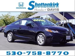 Used 2015 Honda Civic LX Coupe for sale in Davis, CA near Sacramento