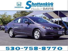 Used 2015 Honda Civic LX Sedan for sale in Davis, CA near Sacramento