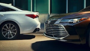 2019 Toyota Avalon grille