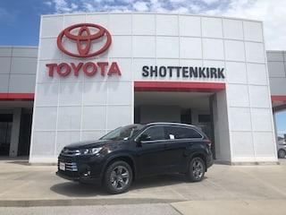 New 2019 Toyota Highlander Limited Platinum V6 SUV