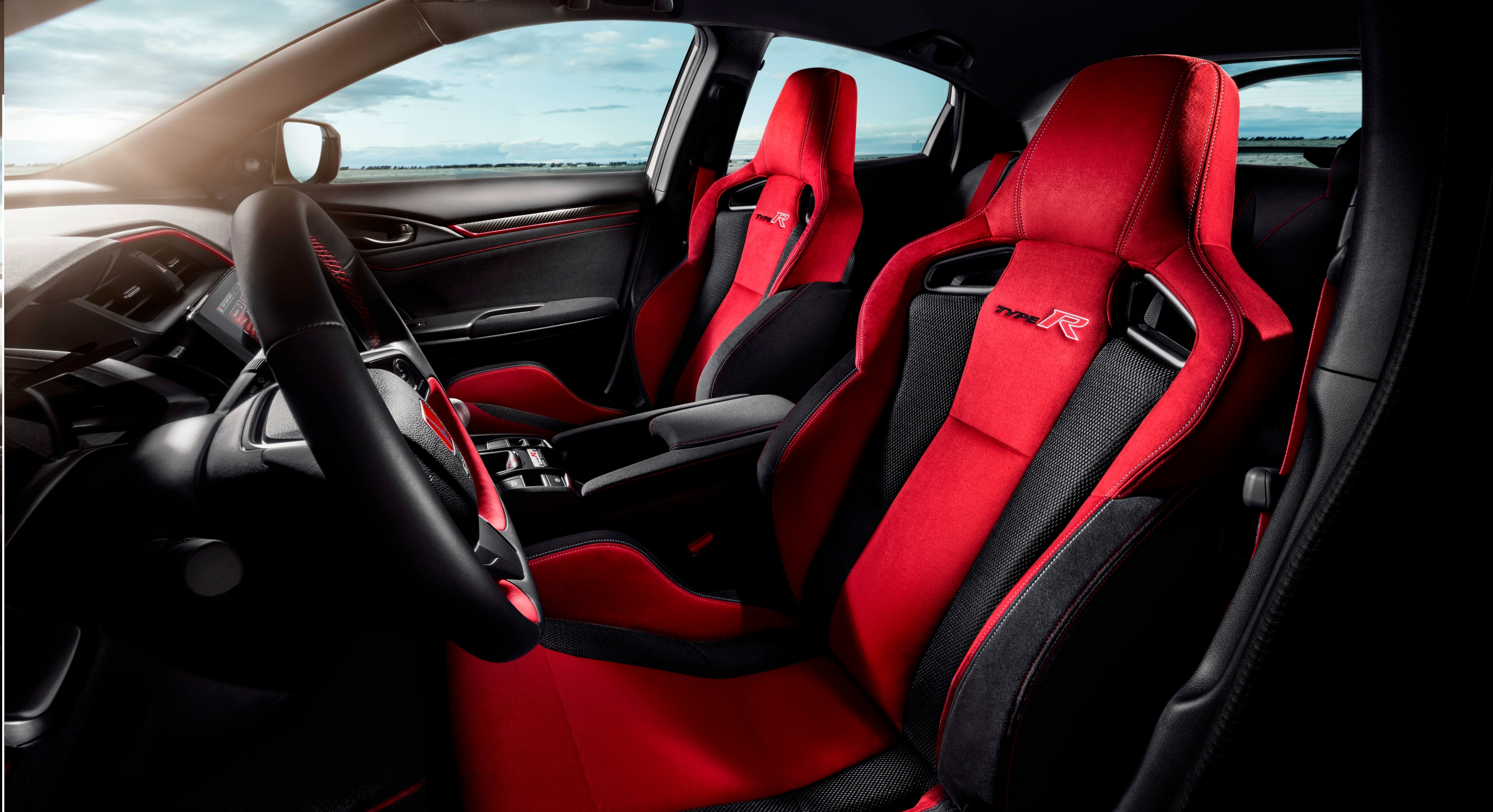 2017 Honda Type R suede sports seats