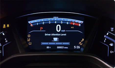 Driver Attention Monitor new Honda CR-V