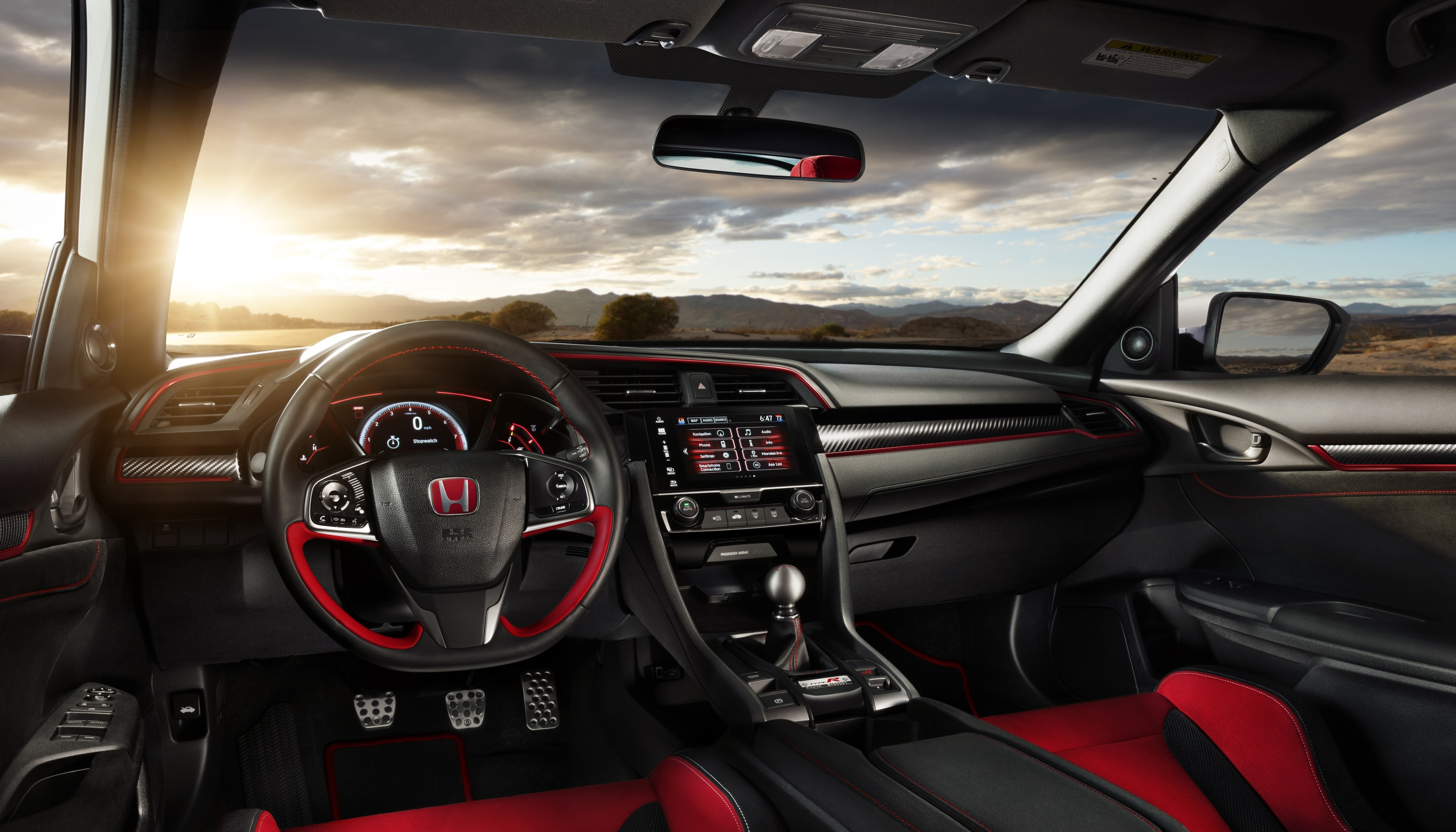 2017 Honda Civic Type R cabin