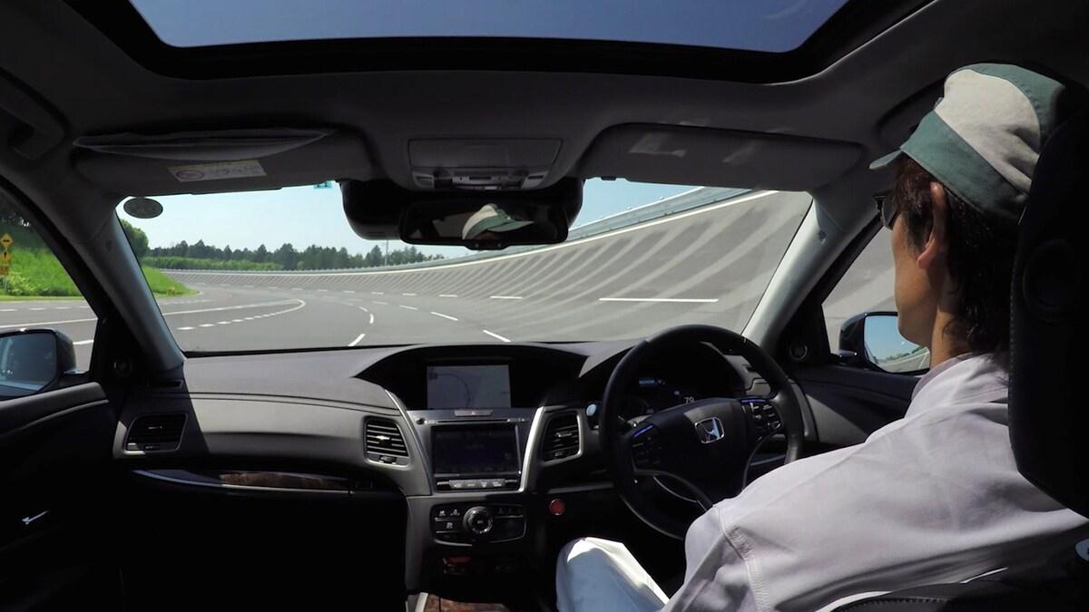 Level 4 self-driving Honda vehicle