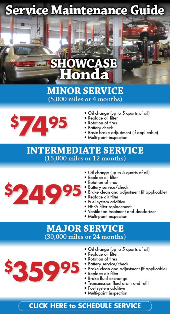 Honda service coupons az
