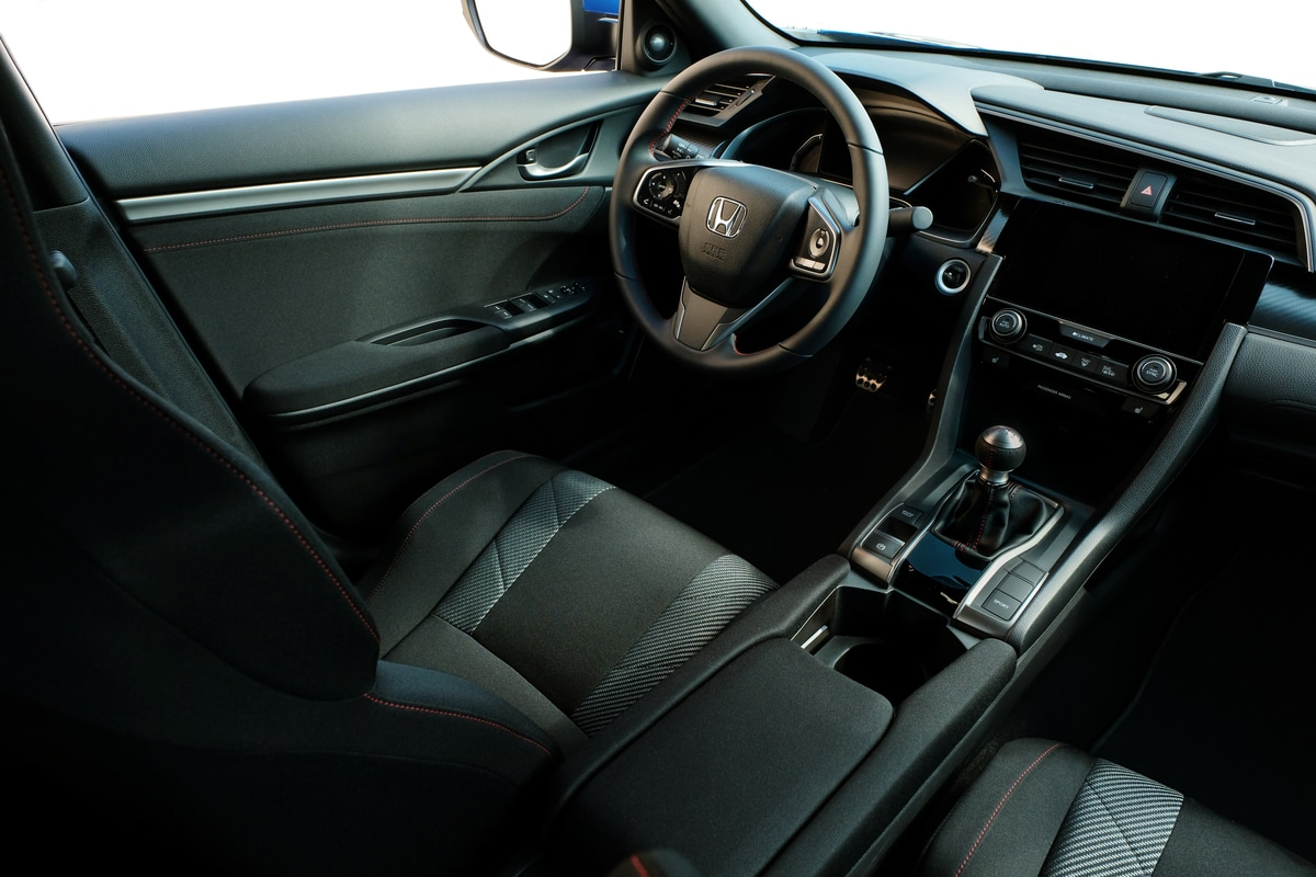 2017 Civic Si interior