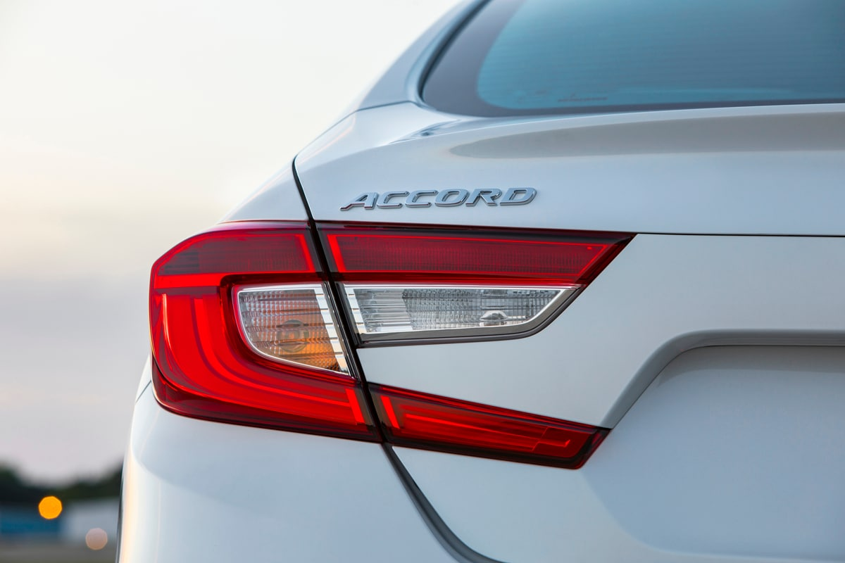 2018 Honda Accord taillight