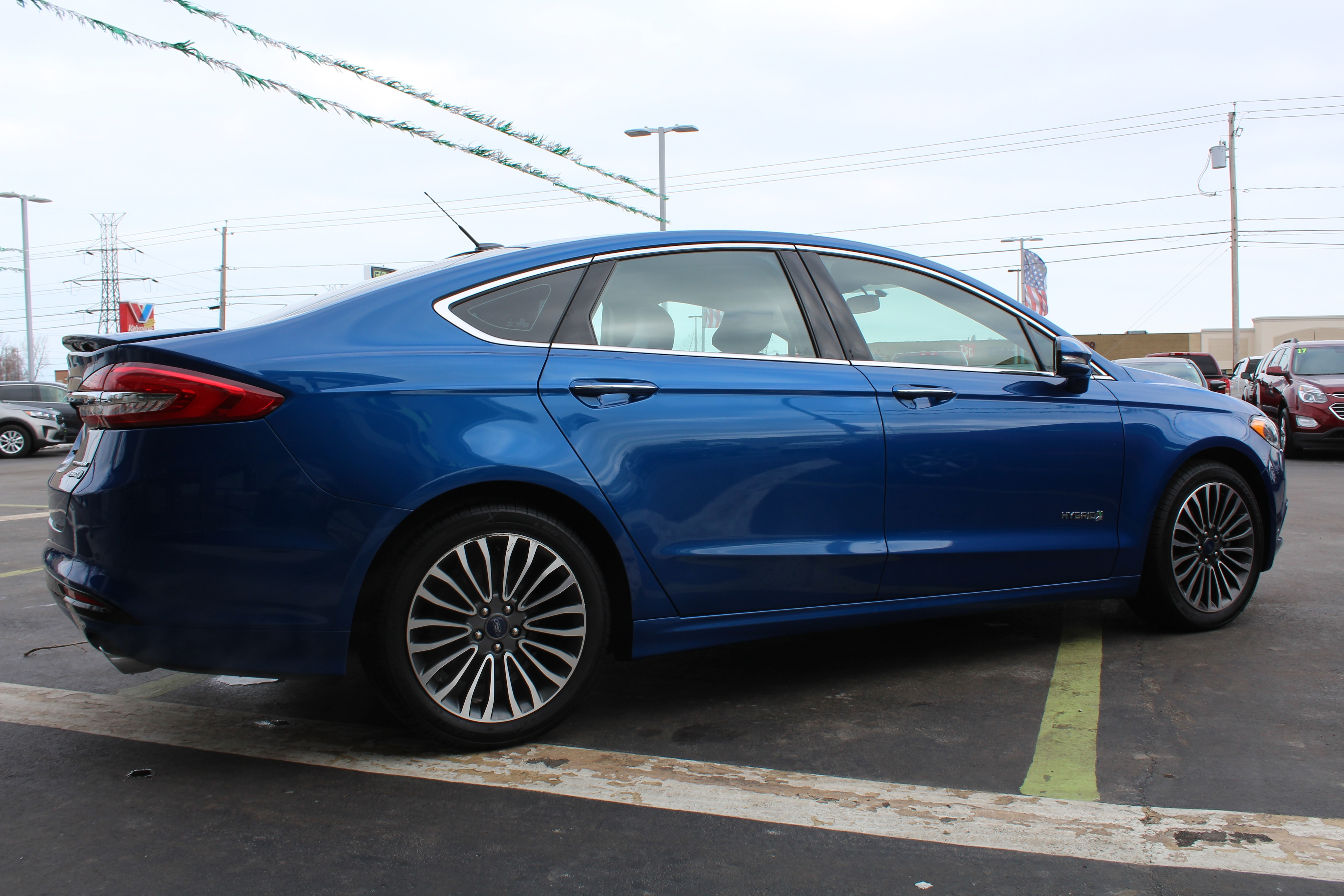 2017 Ford Fusion 4dr Car