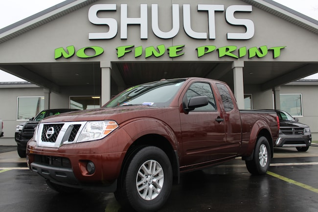2016 Nissan Frontier SV 4WD King Cab Auto SV