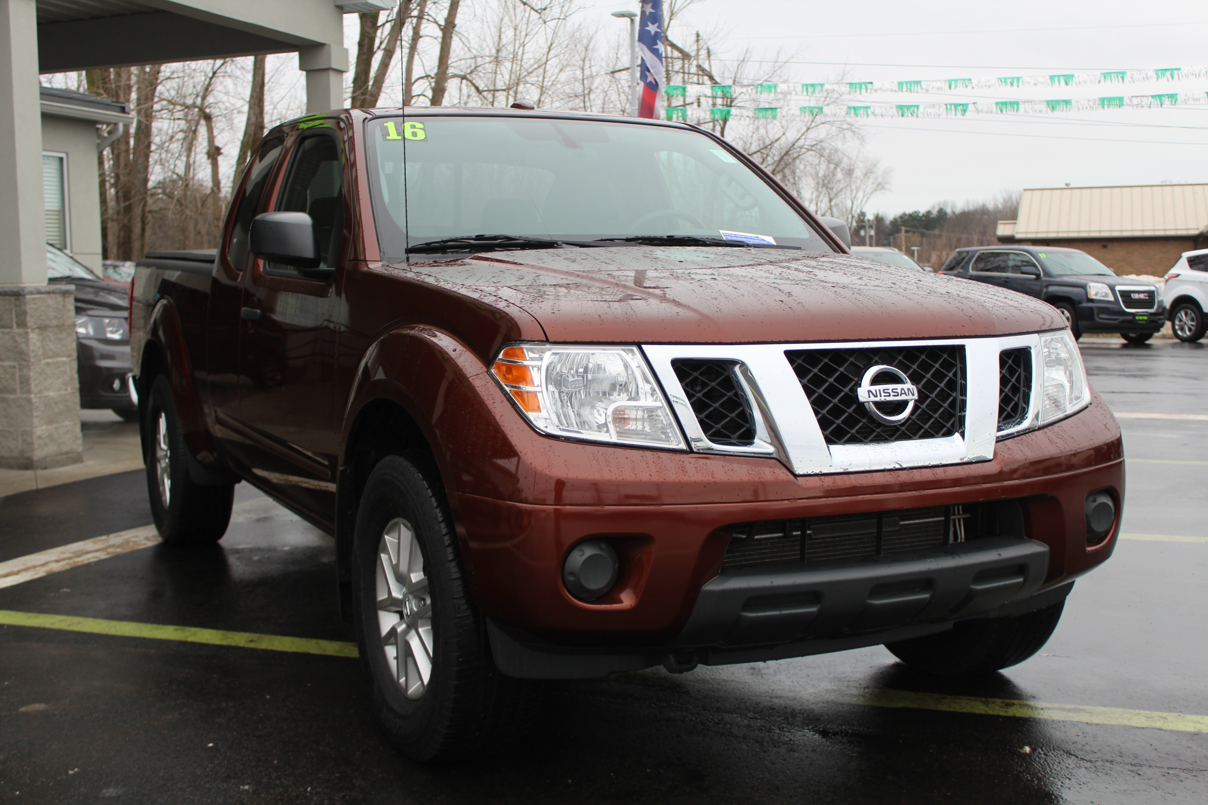 2016 Nissan Frontier Long Bed
