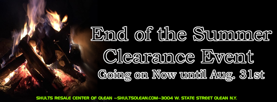 End of the Summer Clearance Event