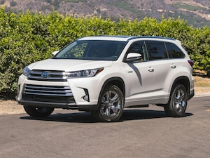 2019 Toyota Highlander Hybrid Limited Platinum V6