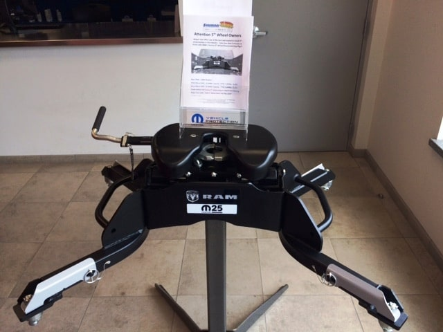 5th Wheel Hitch at Shuman CDJR Parts Department in Walled Lake MI