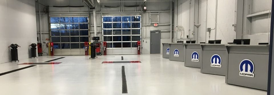 Upgraded Service Bay At Shuman Chrysler Dodge Jeep Ram in Walled Lake, MI