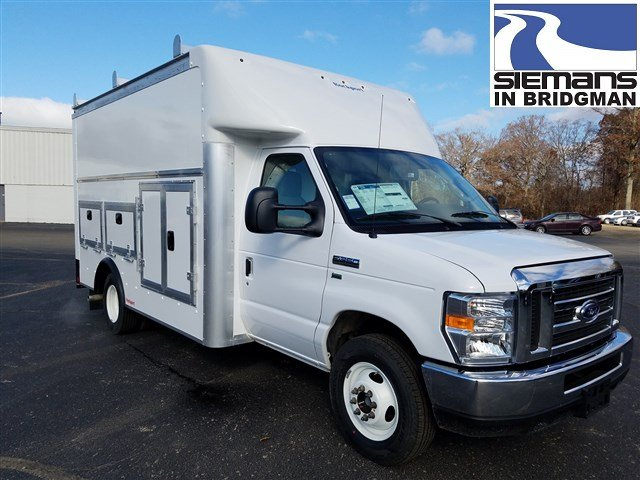 2019 Ford E-350 Rockport Workport 12' Tool Body Truck