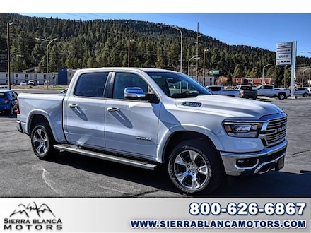 New 2021 Ram 1500 LARAMIE CREW CAB 4X4 5'7 BOX Crew Cab in Ruidoso, NM