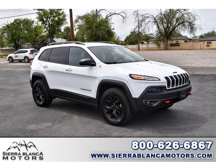 Featured used 2018 Jeep Cherokee Trailhawk SUV for sale in Ruidoso, NM