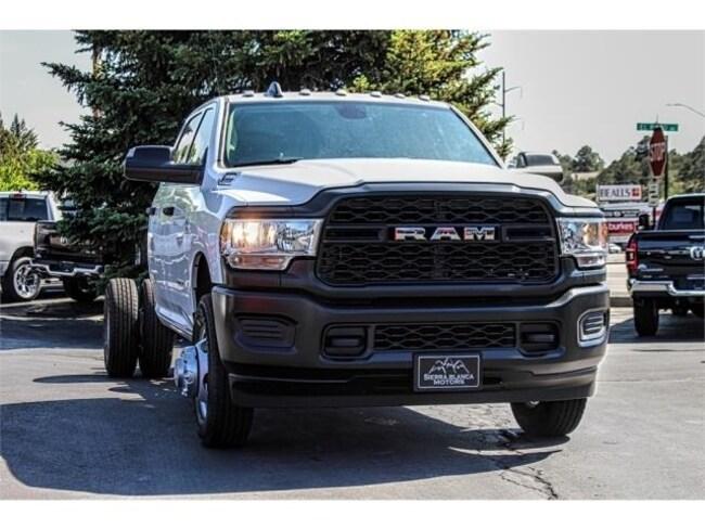 New 2019 Ram 3500 TRADESMAN CREW CAB CHASSIS 4X4 172.4 WB Crew Cab in Ruidoso, NM