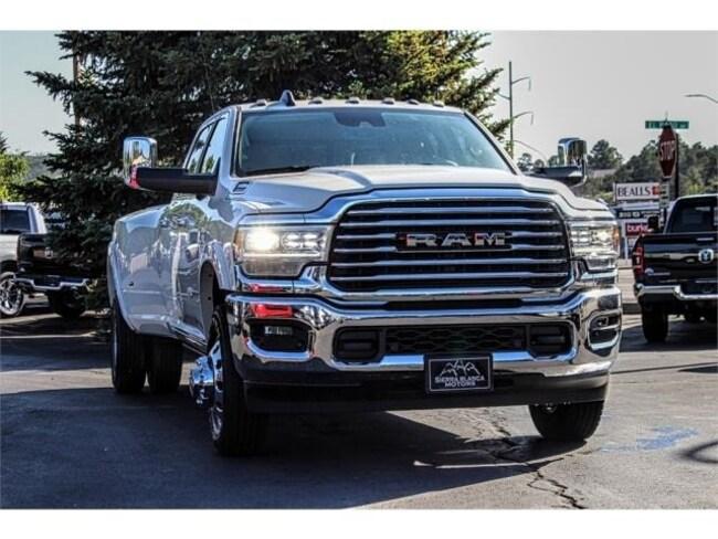 New 2019 Ram 3500 LARAMIE LONGHORN CREW CAB 4X4 8' BOX Crew Cab in Ruidoso, NM