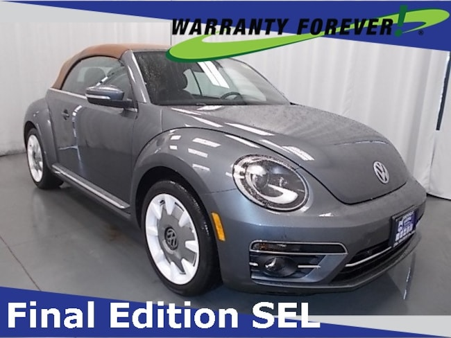 2019 Volkswagen Beetle Convertible 2.0T Final Edition SEL Convertible