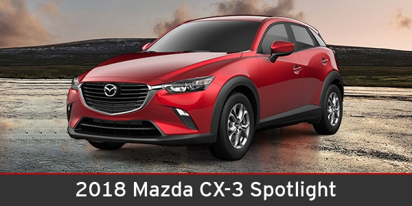 2018 Mazda CX-3 Safety Spotlight | Sierra Mazda | Ottawa, IL