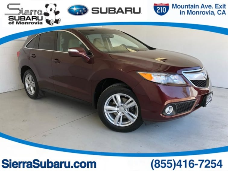 Used 2014 Acura RDX RDX with Technology Package SUV For Sale in Monrovia, CA