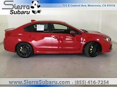 New 2018 Subaru WRX STI Limited with Lip Sedan 127746 for Sale in Monrovia, CA