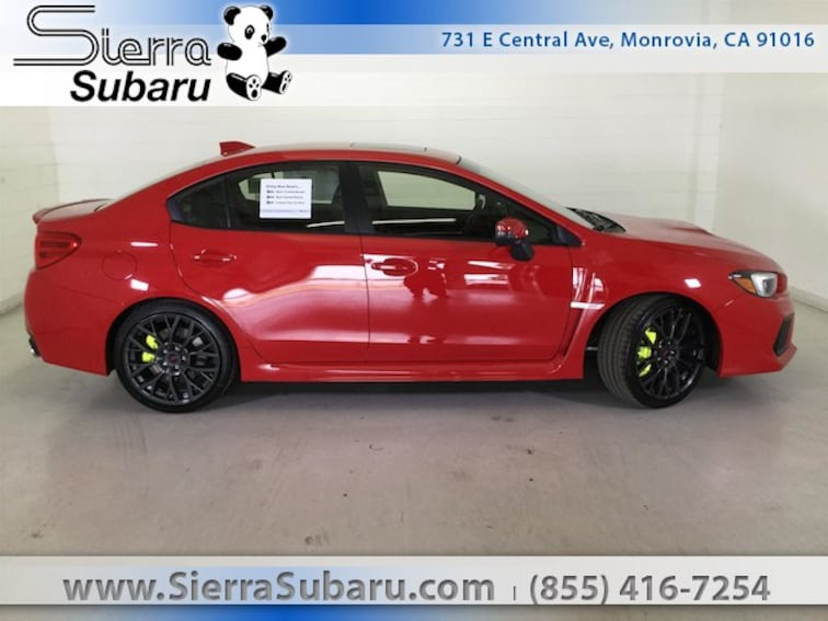 New 2018 Subaru WRX STI Limited with Lip Sedan for sale in Monrovia, CA